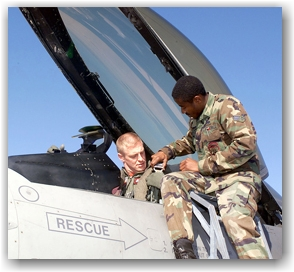 Military Soldiers Air Force Members