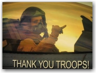 Thank you Veterans Troops