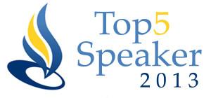 Top5Speaker 2013