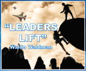 Leaders Lift photo quote Waldo web