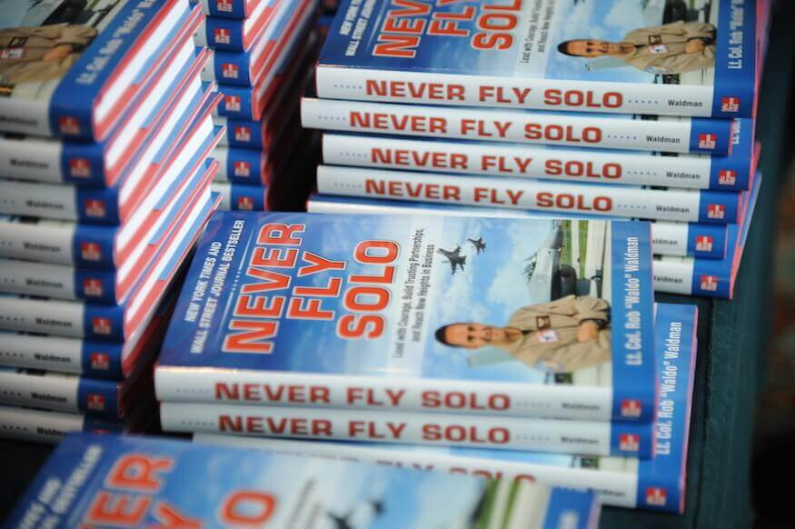 Never Fly Solo - Book