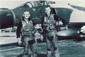 Photo of Captains Bob Pardo (L) and Earl Amon